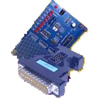 ST7 ISP Programmer for ST7 Microcontrollers with 42 and 56-pin ST7 Development Board