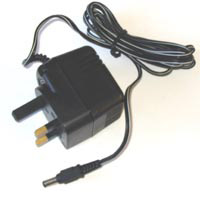 9V UK Power Supply Unit with 2.1mm barrel Connector