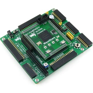 Altera EP4C Cyclone 1V FPGA NIOS II evaluation development board