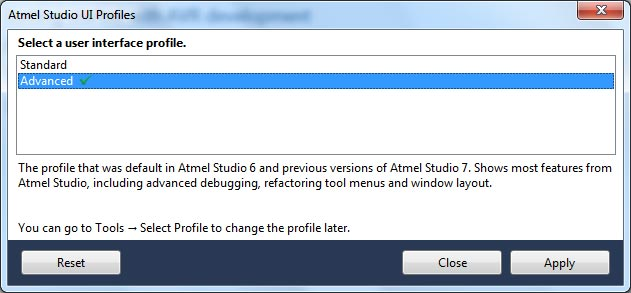 Atmel Studio Missing External Tools Menu | Kanda Electronics