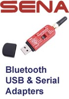 Bluetooth serial and USB adapters picture