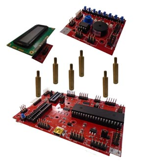 Microcontroller kit expanded