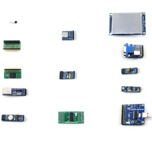 Accessory Package A for Altera Cylone 1V EP4C FPGA Kit
