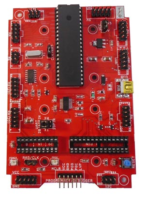 PIC Microcontroller main board