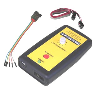 PIC 8-way handheld programmer