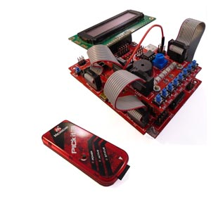 pickit programmer and board