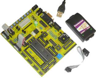 avr starter kit for avr microcontroller