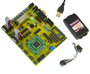 stk300 avr board with AVR isp