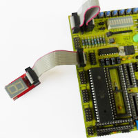 Starter kit with 7 segment display