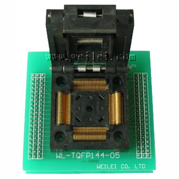 Wellon TQFP144-M433 Socket Converter