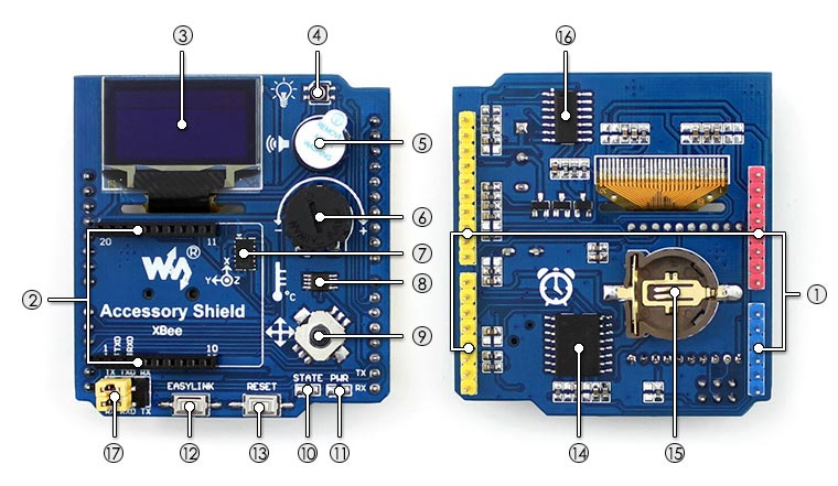 Arduino Accessory Shield picture
