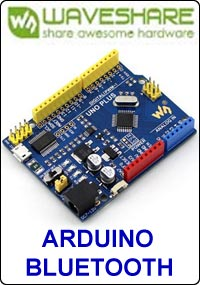 Waveshare Arduino and Bluetooth picture