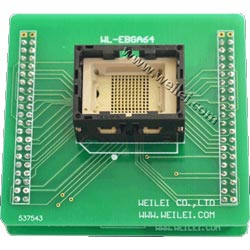 Wellon BGA64 Socket Adapter