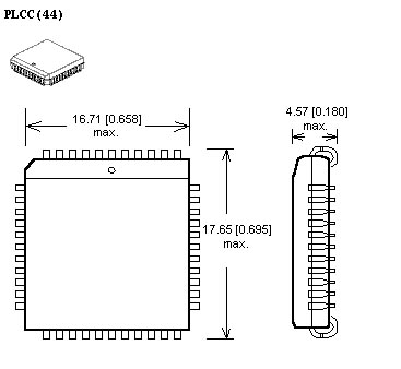 PL44 to 40-pin adapter diagram