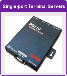 Single Port Terminal Servers picture